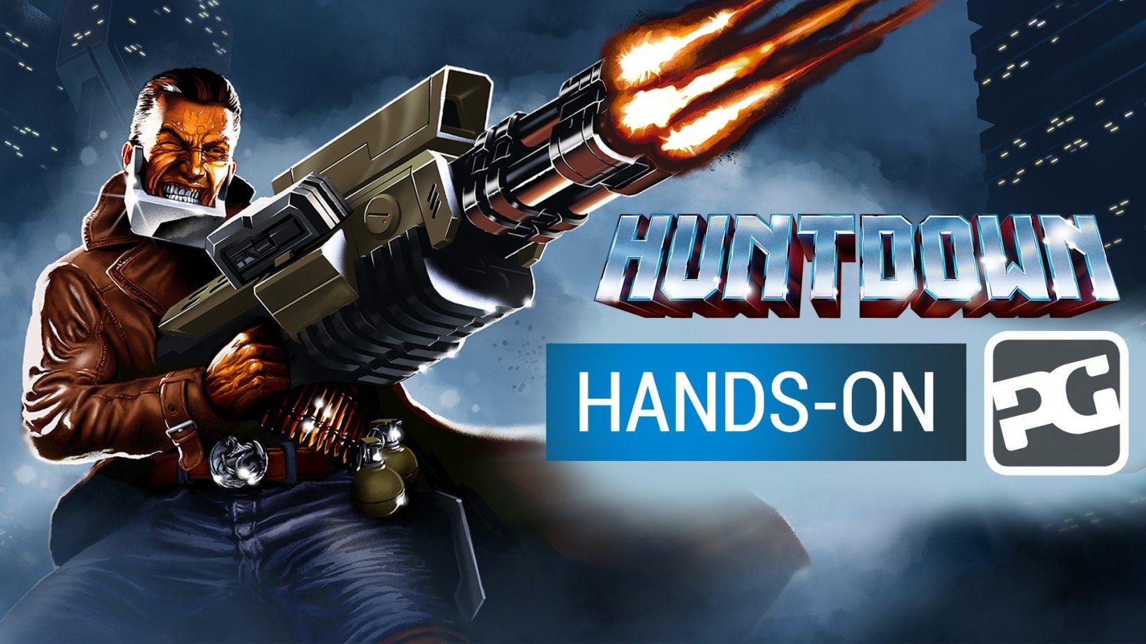 Huntdown - gameplay video