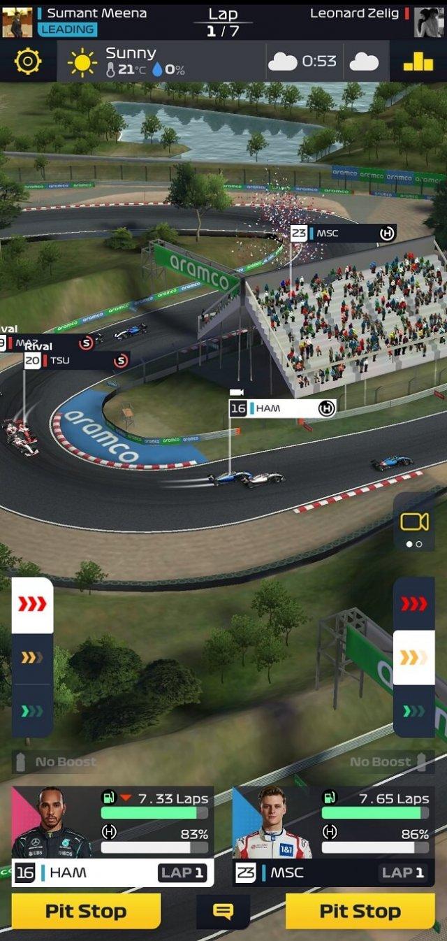 F1 Clash overtake tip