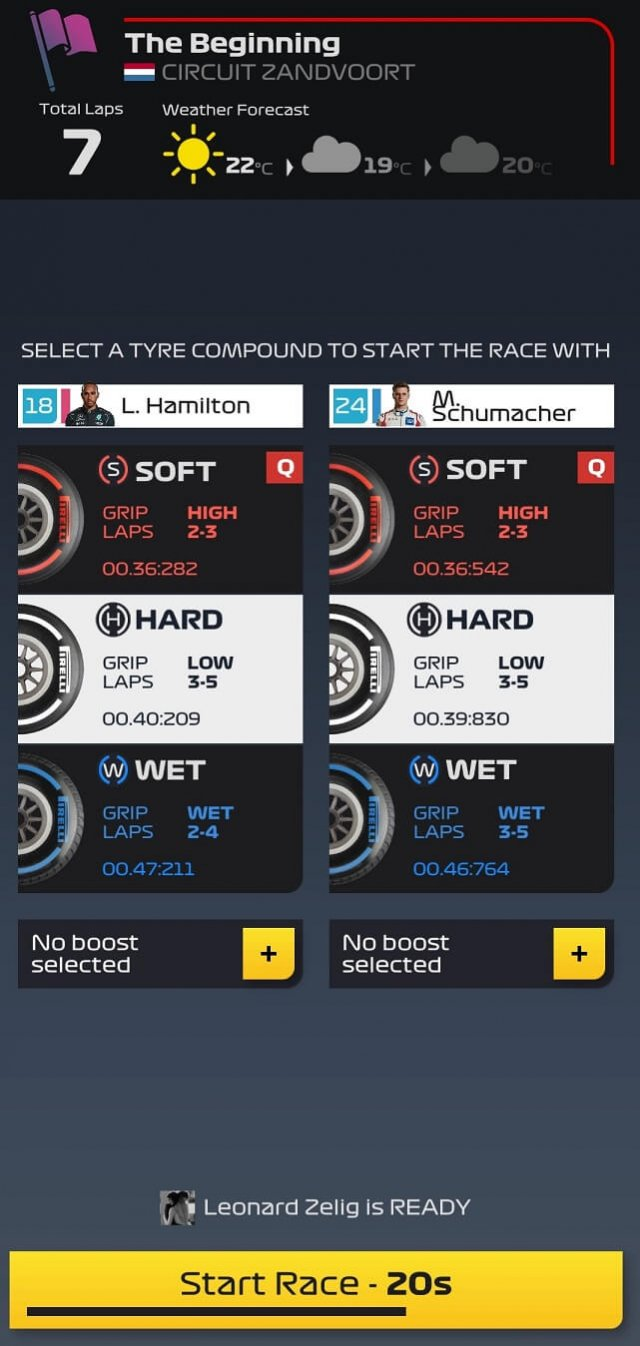 guide - tire selection
