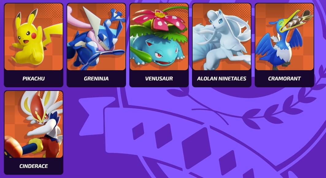 Pokemon Unite best attacker