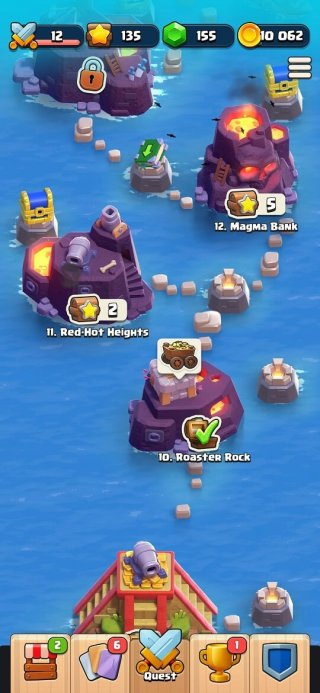 Clash Quest tips and tricks - previous levels