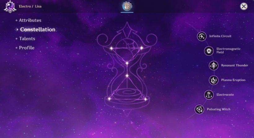 Lisa guide - Constellation