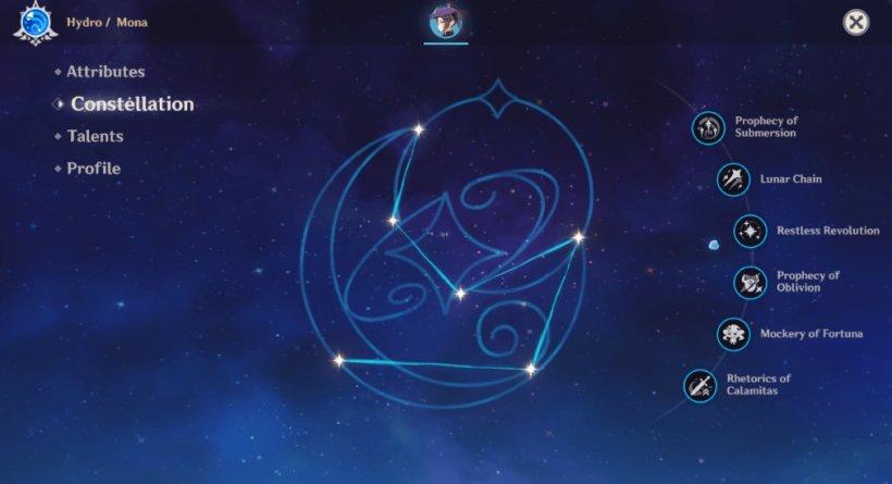 Mona guide - Constellation