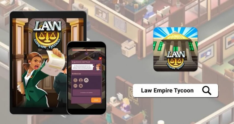 Law Empire Tycoon is an idle game that lets you run a law firm; the game is now live on Android and iOS