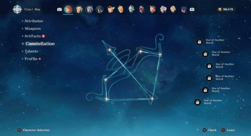 Aloy Constellation