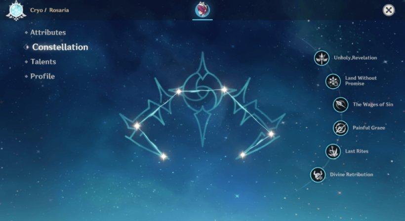 Rosaria Constellation