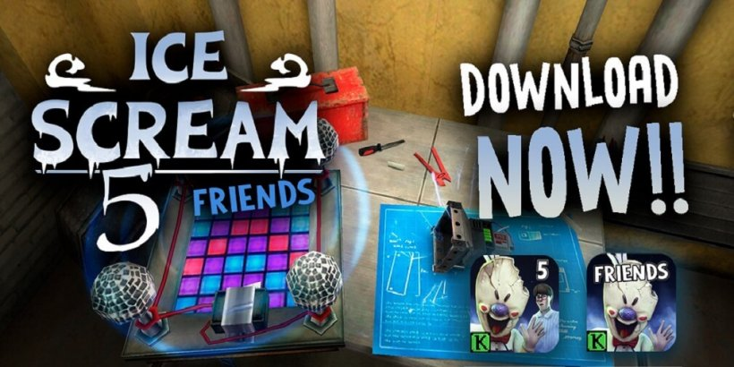 Ice Scream 5, the latest chapter in the Ice Scream game series, is out now for iOS and Android