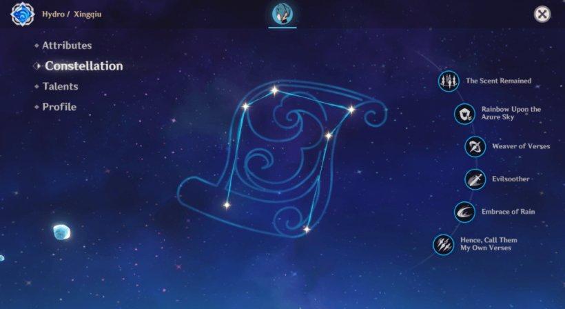 Xingqiu Constellation