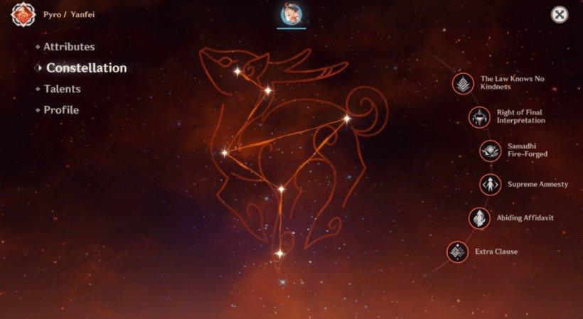 Yanfei Constellation
