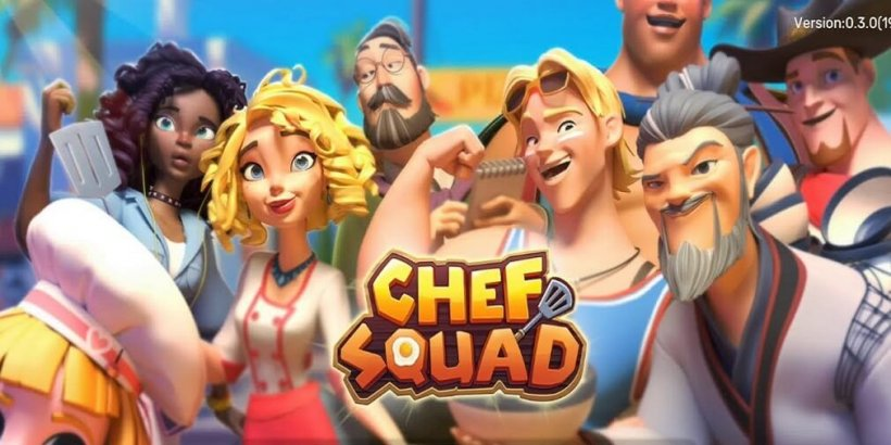 Chef Squad is a cooking simulation game that is out now for Android in the US