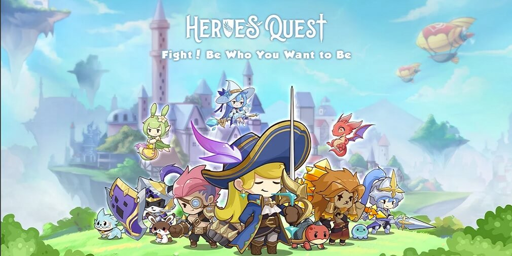 Heroes' Quest: AFK Explorer is a cute anime-style idle RPG that is out now on Android and iOS