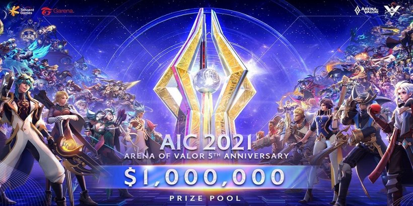 Arena of Valor International Championship 2021 announced with a prize pool of 1 million USD