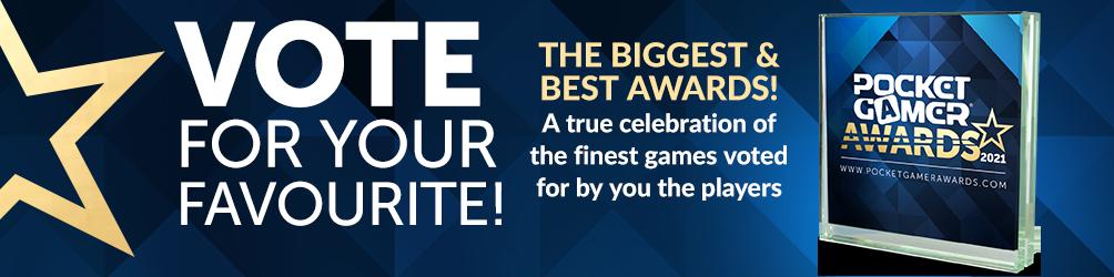 Pocket Gamer Awards - Vote Now!