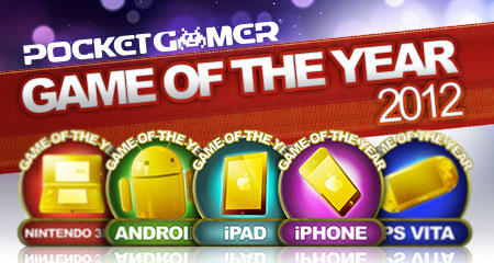 Pocket Gamer's Top 10 Games of the Year 2012 - iPhone Edition