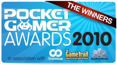 The Pocket Gamer Awards 2010: The Winners