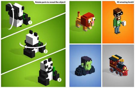 Kubiko - Solve 3D pixel art puzzles