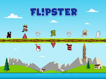 Flipster Endless Arcade Jumper