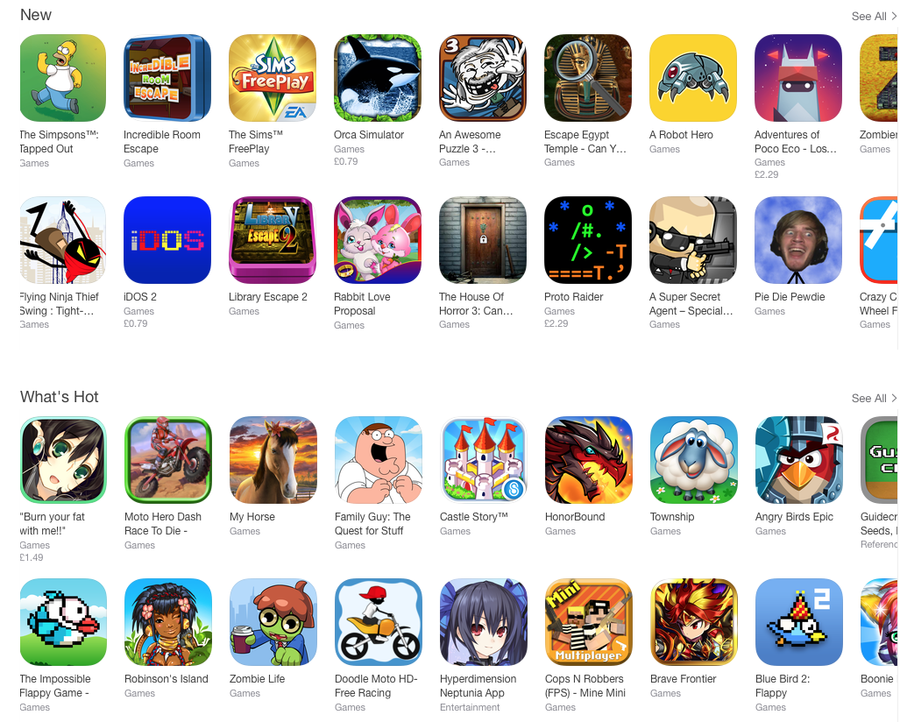 Apple is now hand-picking games in every genre   Articles