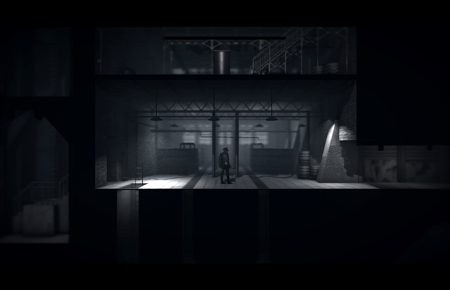 Stunning monochrome heist game Calvino Noir lets you manipulate time to play co-op with yourself