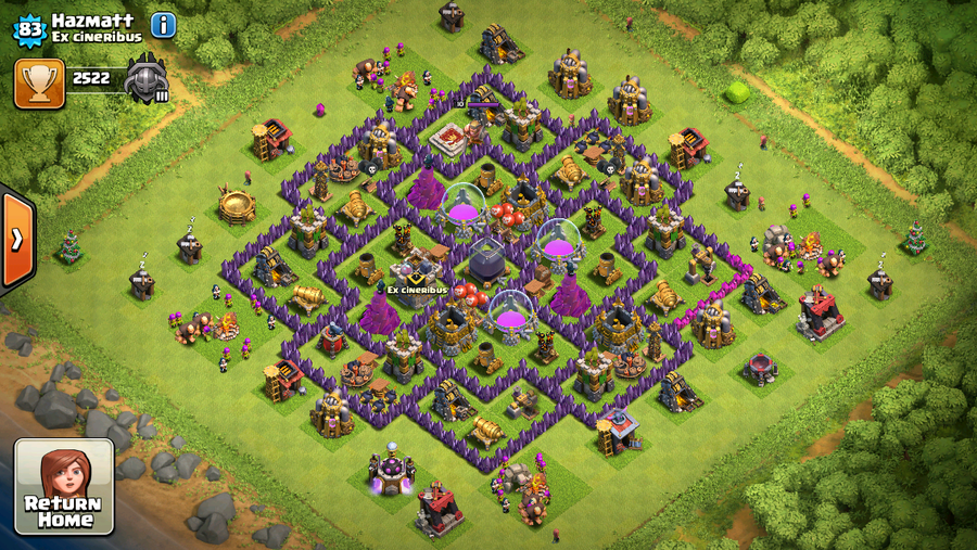 Clash of Clans base building strategies - how to lay out