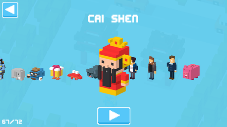 Crossy road chinese new year s update fortune