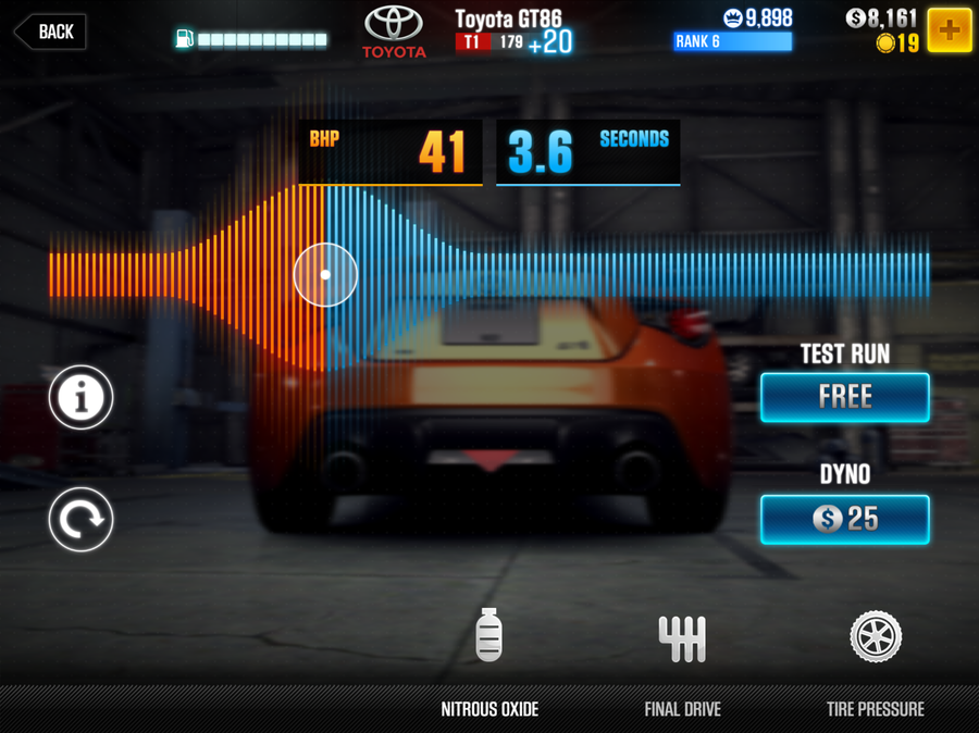 How to tune your car in CSR Racing 2 - tires, nitro, and