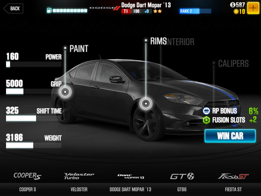The best cars in CSR Racing 2, in every tier | iPhone | Pocket Gamer