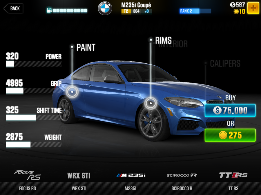 The Best Cars In Csr Racing 2 In Every Tier Articles Pocket Gamer