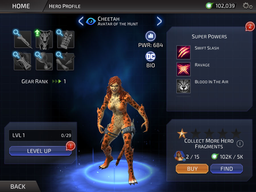 Hero Power Mobile Legend
