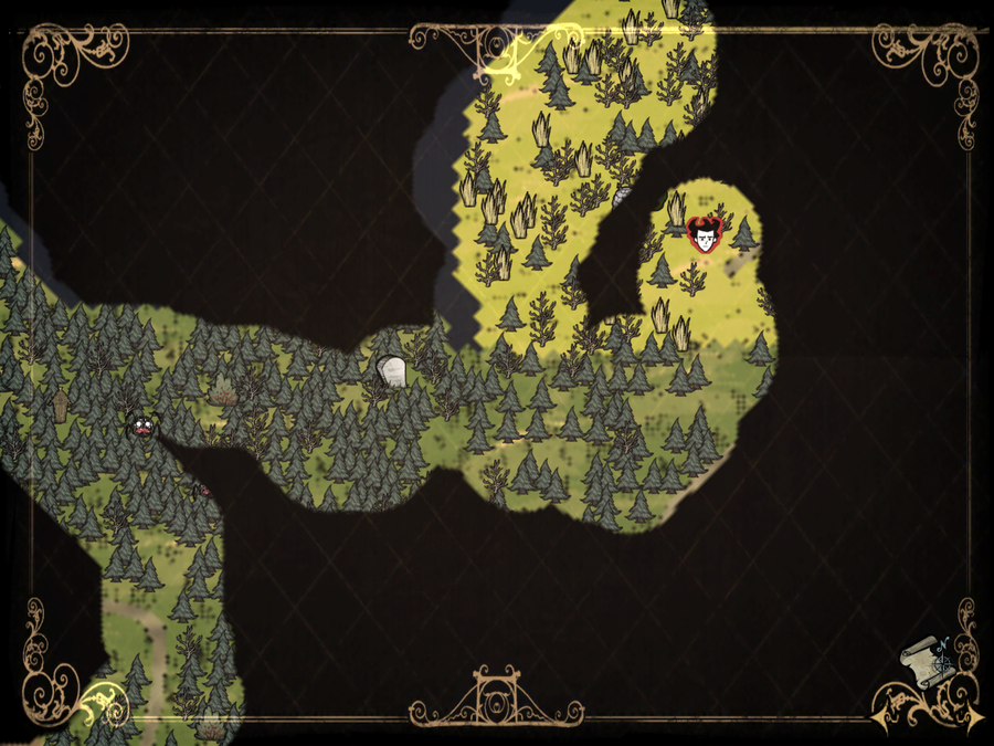 Don't Starve: Pocket Edition - 11 tips on how to survive ... on bloodborne map, dark souls map, dead rising 3 map, dragon age: inquisition map, h1z1 map, dying light map, five nights at freddy's map, strider map, lords of the fallen map, damnation map, assassin's creed unity map, crackdown 2 map, icewind dale map, destiny map, axiom verge map, the crew map, terraria map, project zomboid map, the elder scrolls online map, everybody's gone to the rapture map,