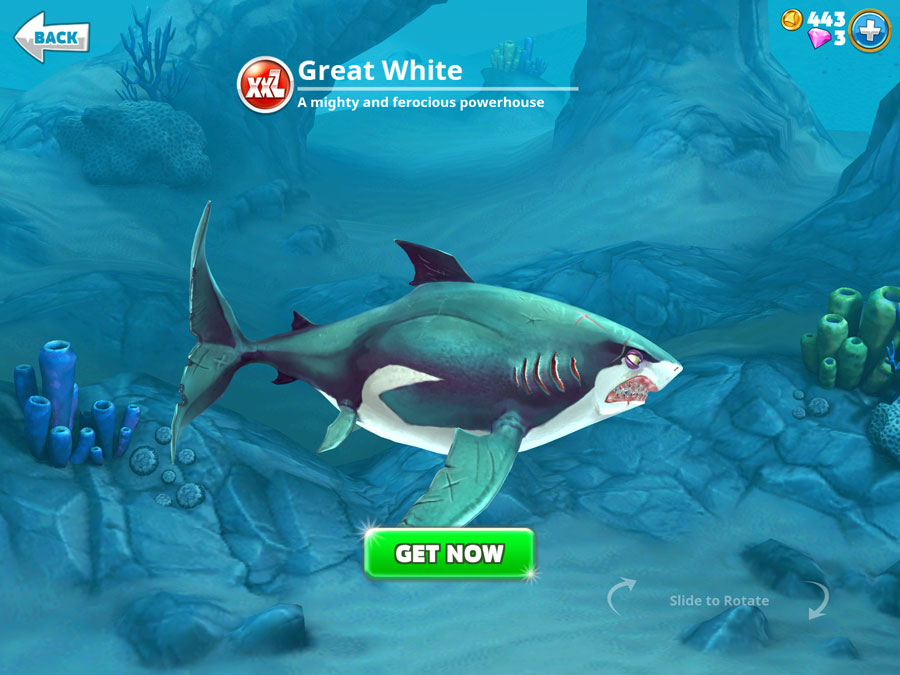 How to unlock every shark in Hungry Shark World - from Whitetip to Great White to Megalodon ...