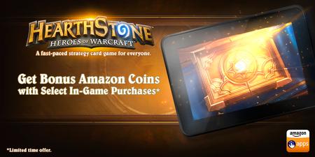 Amazon coins hearthstone