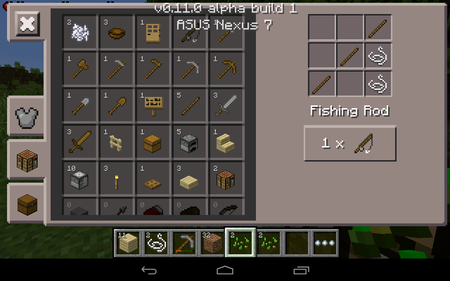Iphone feature minecraft pocket edition pocket gamer for How to fish in minecraft pe