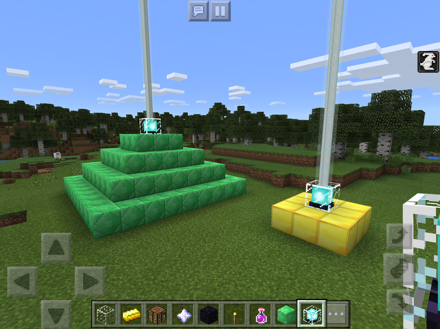 Beaconss Minecraft Pocket Edition