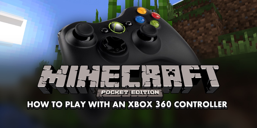 How to play Minecraft: Pocket Edition with an Xbox 360