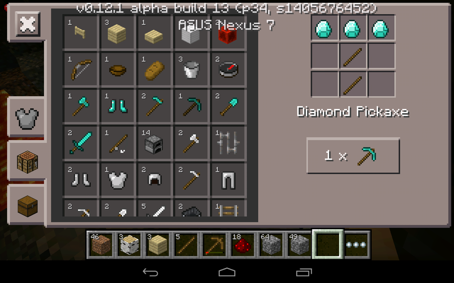 How to build an enchantment table, and enchant items in