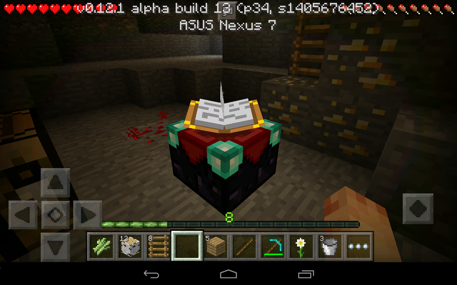 How To Build An Enchantment Table And Enchant Items In Minecraft Pocket Edition 0 12 Tutorial Articles Pocket Gamer