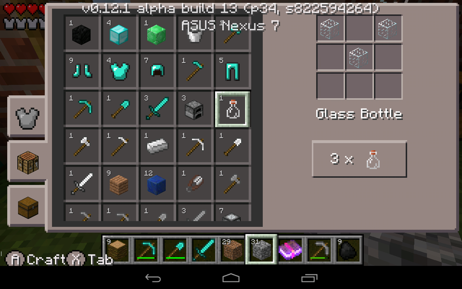 How to make a brewing stand and create potions in - How do you use a crafting table in minecraft ...