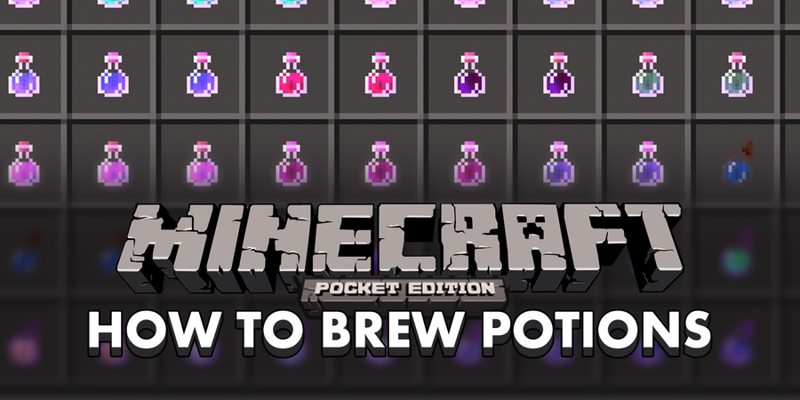 How to make a brewing stand and create potions in Minecraft: Pocket