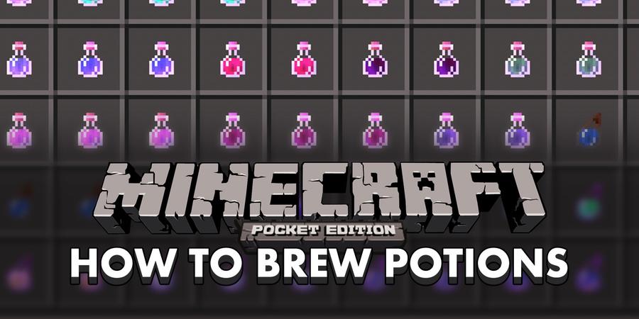 Minecraft potion recipes xbox 360 edition