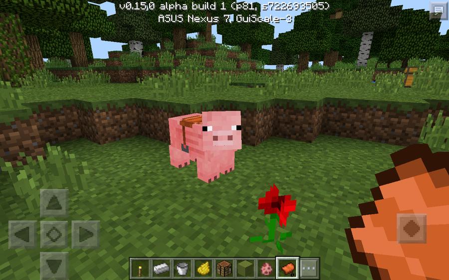 pig with saddle minecraft cheat