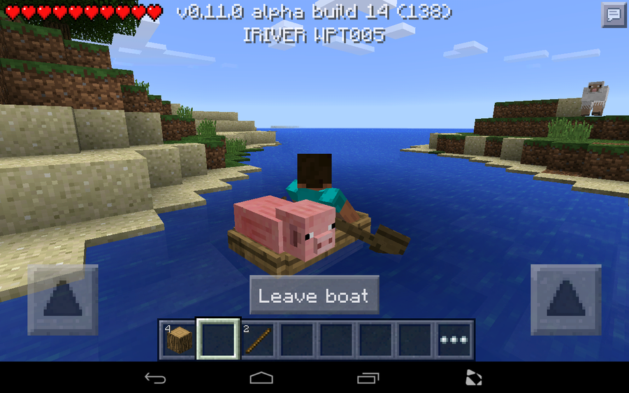 Minecraft: Pocket Edition 0.11 - How to make a boat | Android ...
