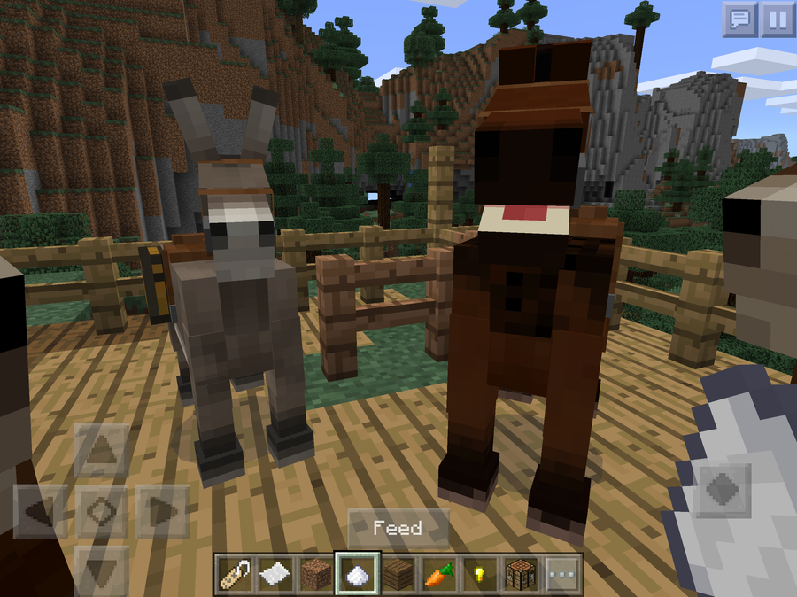 minecraft how to breed a horse