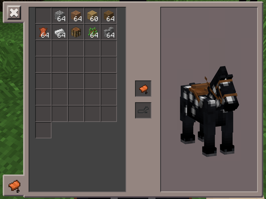 How to make a minecraft horse saddle for Things you can make with horseshoes
