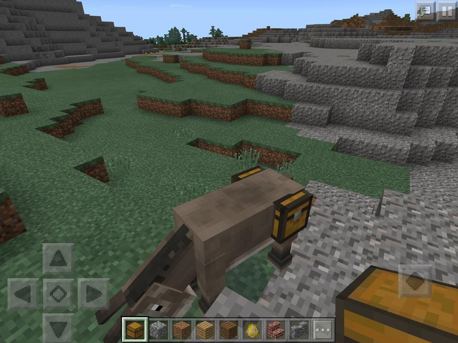 minecraft lama sattel bauen
