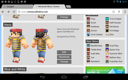 Minecraft Pocket Edition How To Change Your Skin Android - Skins para minecraft pe ipad