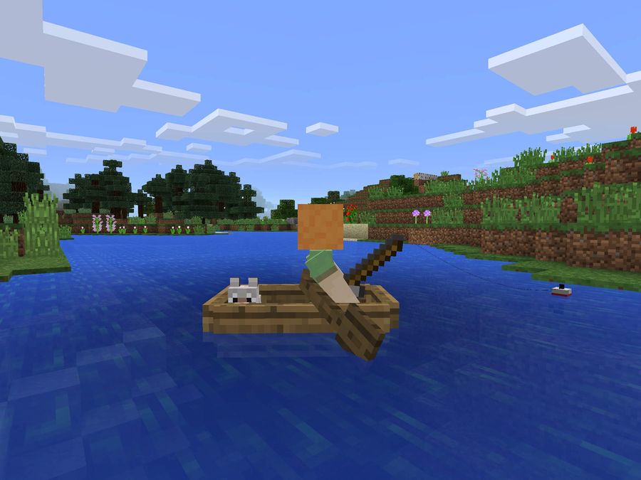 How To Craft A Fishing Rod In Minecraft Pocket Edition