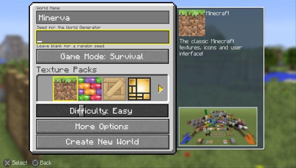 How To Survive Your First Few Nights In Minecraft PlayStation Vita - Minecraft spiele fur ps vita