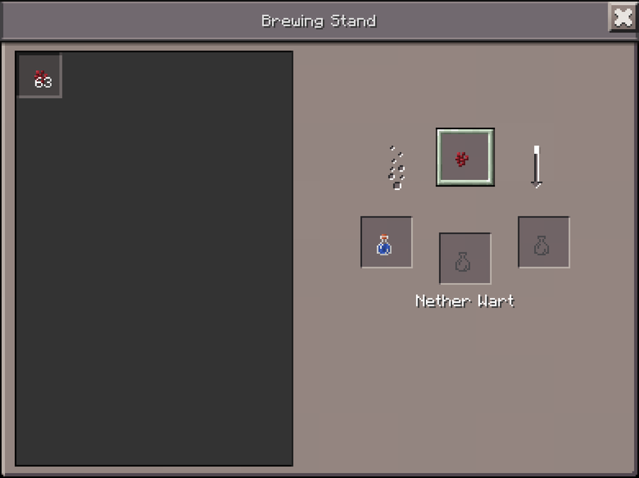 how to make an awkward potion without nether wart