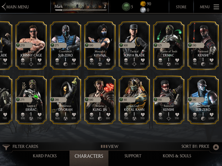 It Would Cost Over 300 To Get Every Character In Mortal Kombat X
